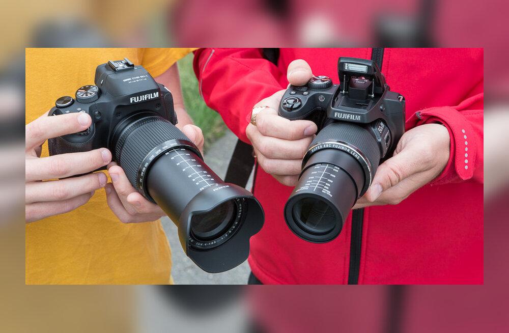 Karbist välja: Fujifilmi supersuumkaamerad SL1000 ja HS50 EXR
