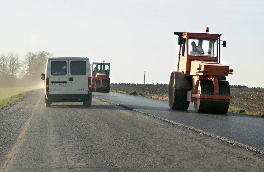 Täna on Eestis liikluspiiranguid viies paigas