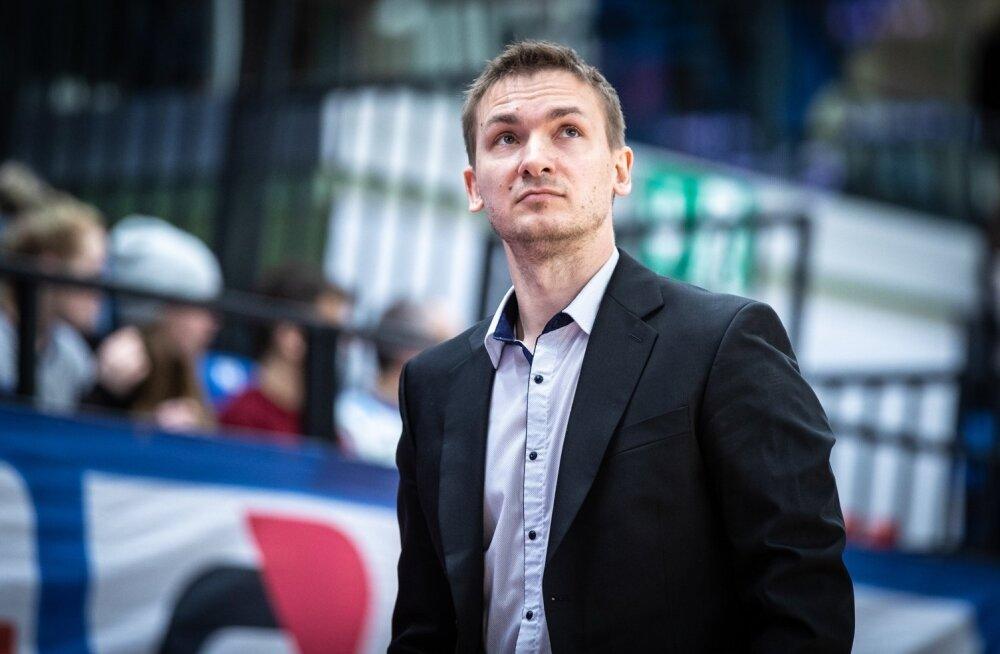 Pärnu Sadama peatreener Heiko Rannula