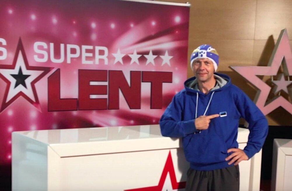 Uus katse! Ameerika talendisaates võiduta jäänud Vello Vaher võtab nüüd mõõtu sakslaste telesõus