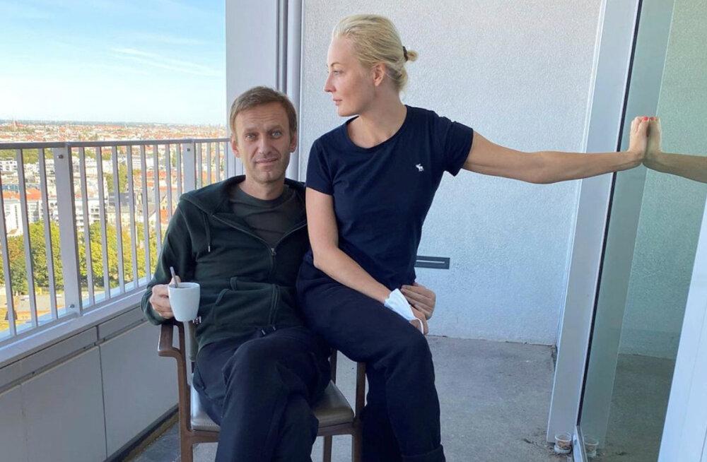 """""""Юля, ты спасла меня!"""" Алексей Навальный рассказал, как жена помогла ему вернуться к жизни после комы"""