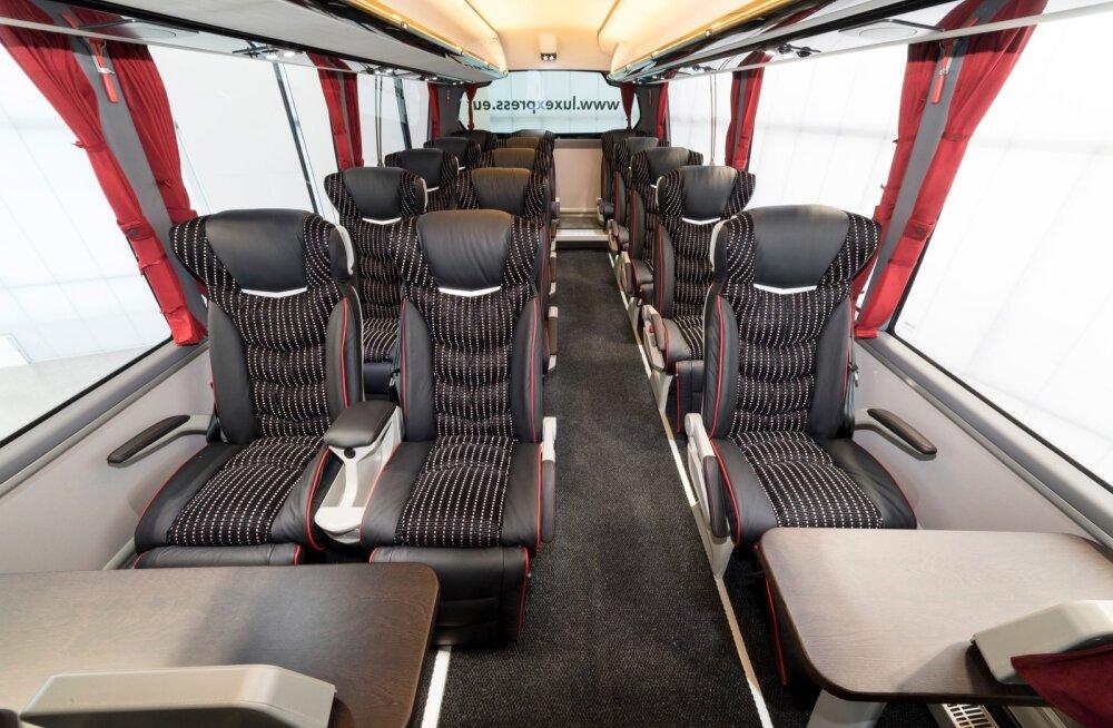 ФОТО: Lux Express инвестирует в новые автобусы почти три миллиона евро