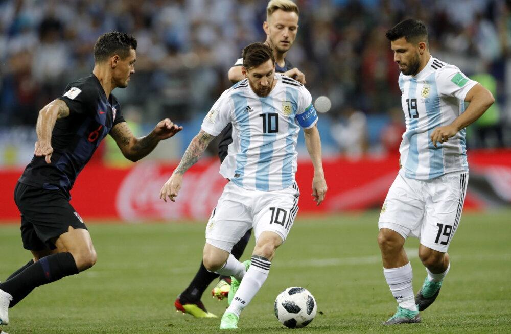 Messi ja Agüero