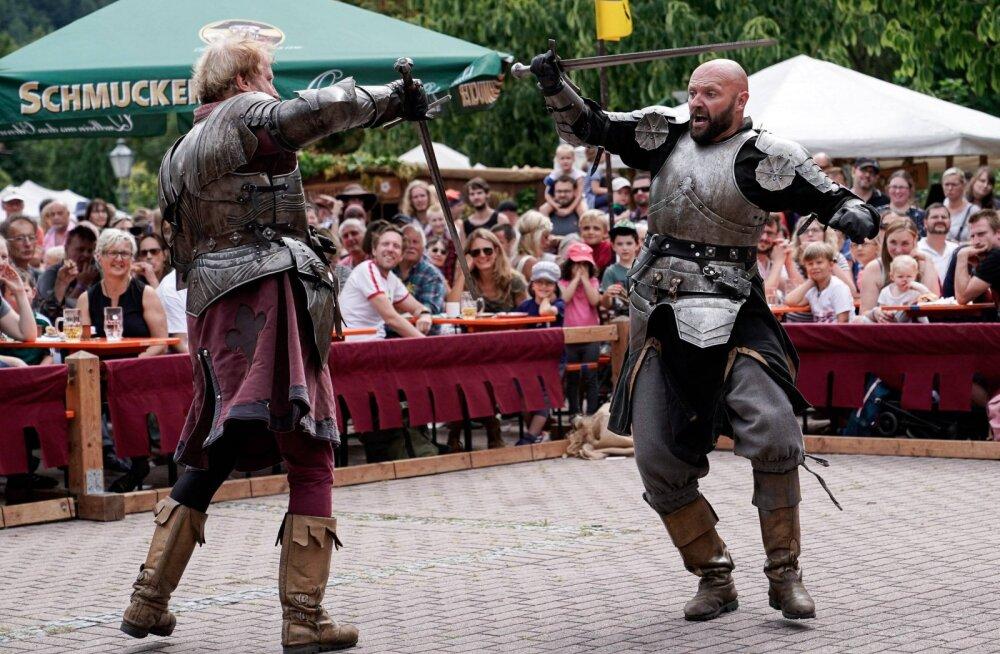 Keskaegne duell: armukolmnurka sattunud leedukas võitles surmani naise eksabikaasaga