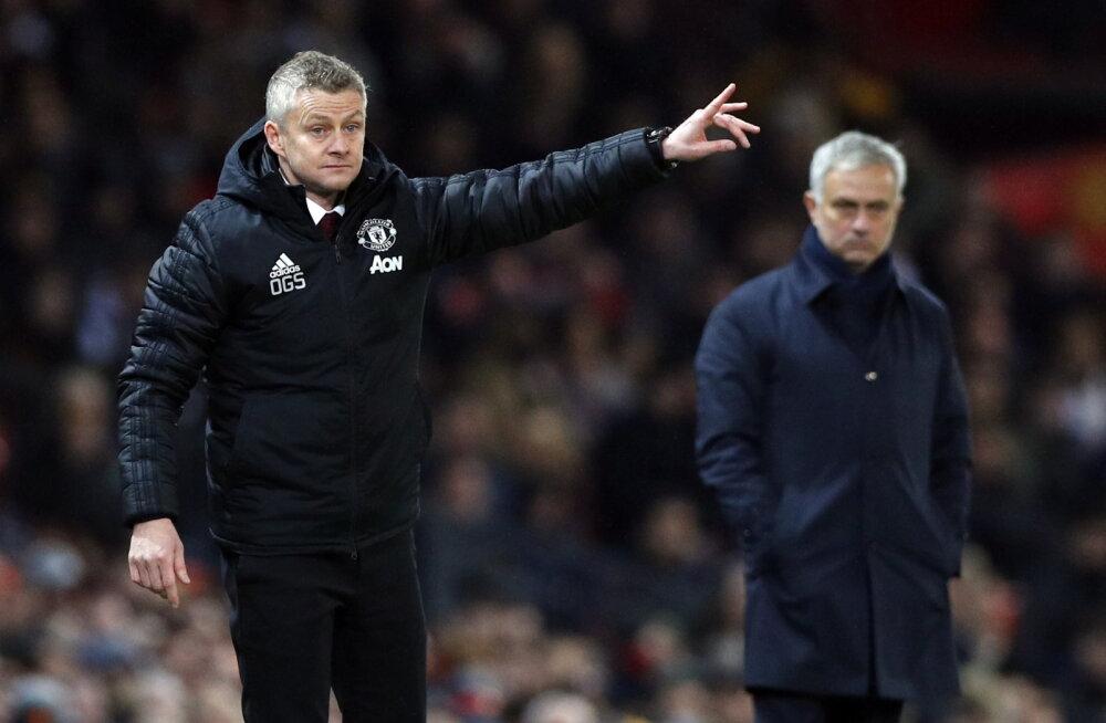 Manchester United lõpetas Mourinho ja Tottenhami võiduseeria