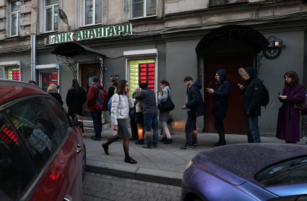 Investoritel on liiga palju Venemaa varasid