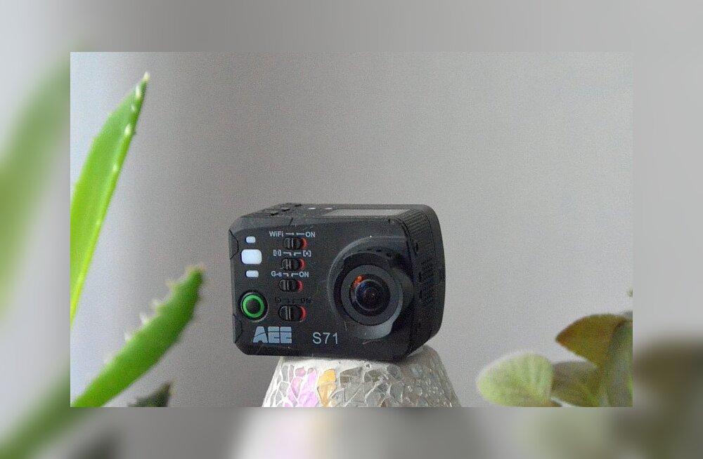 TEST: AEE seikluskaamera – odav(am) alternatiiv GoPro toodetele