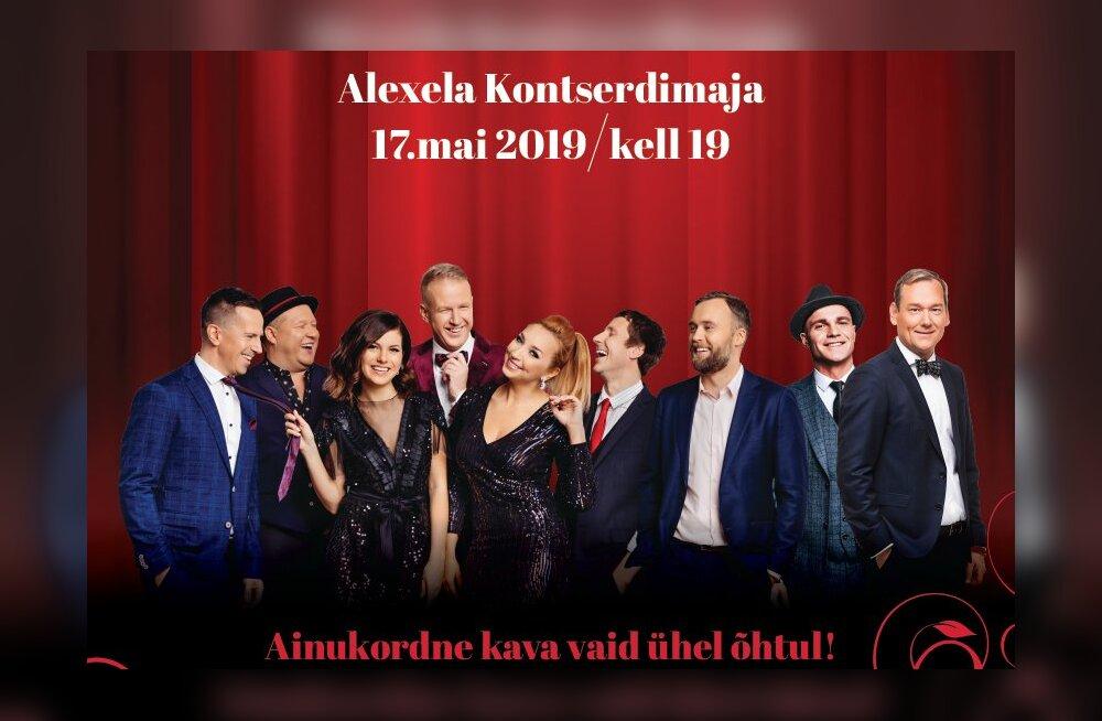 The Swingers annab Eesti Naise 95. sünnipäeva puhul suure galakontserdi