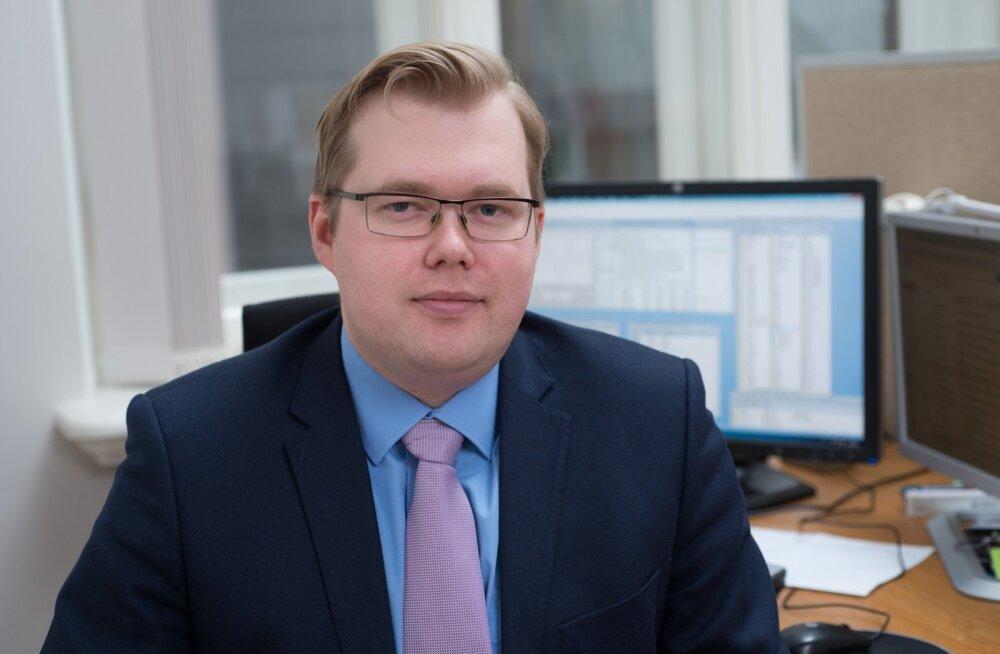 Eesti Panga ökonomist Kaspar Oja.