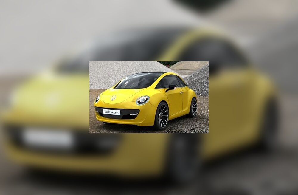 2012 Volkswagen Beetle Concept