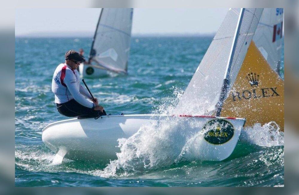 Lauri Väinsalu Miamis MK-etapil, purjetamine