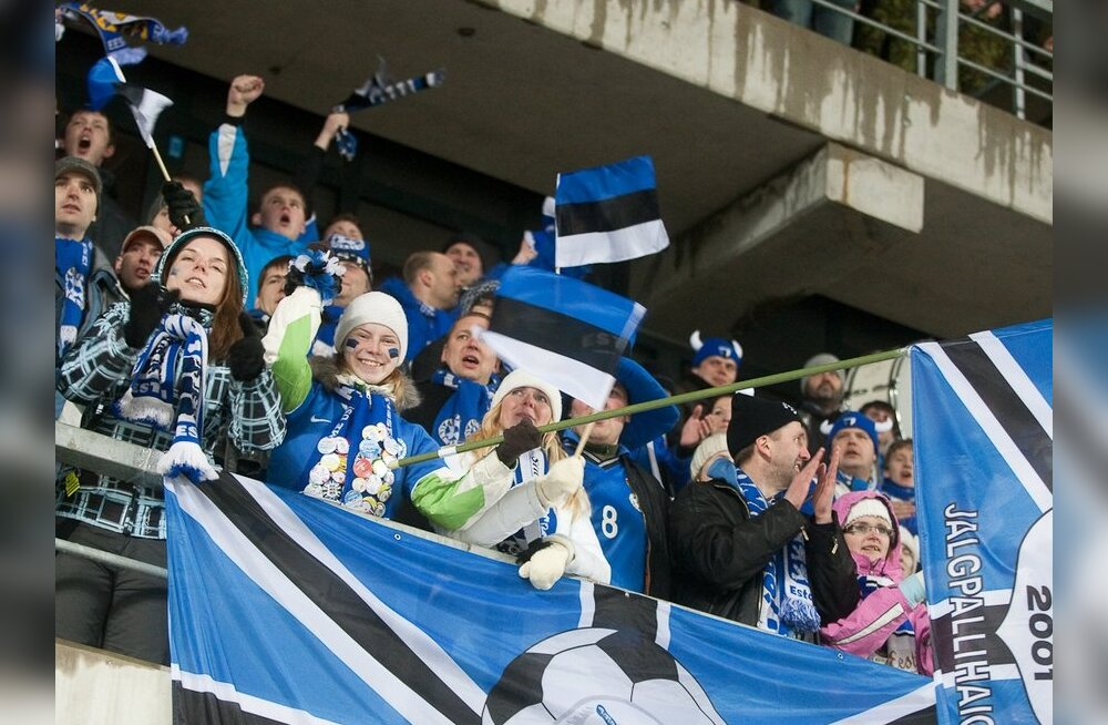 DELFI GRAAFIK: Eesti jalgpallikoondise väljavaated EM-finaalturniirile jõudmiseks