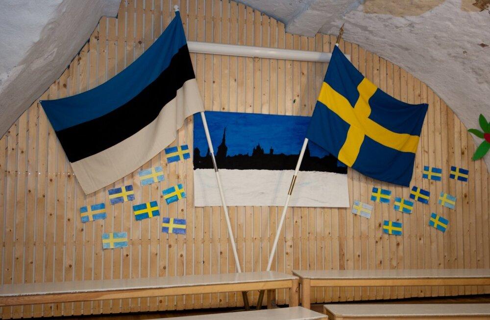 Stockholmi Eesti kooli külastus