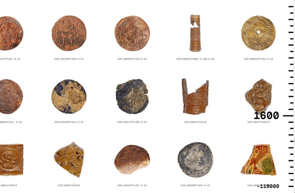 Arheoloogide pidu: Amsterdami metrooliinide ehitamisel kaevati välja tohutu hulk ajaloolisi esemeid