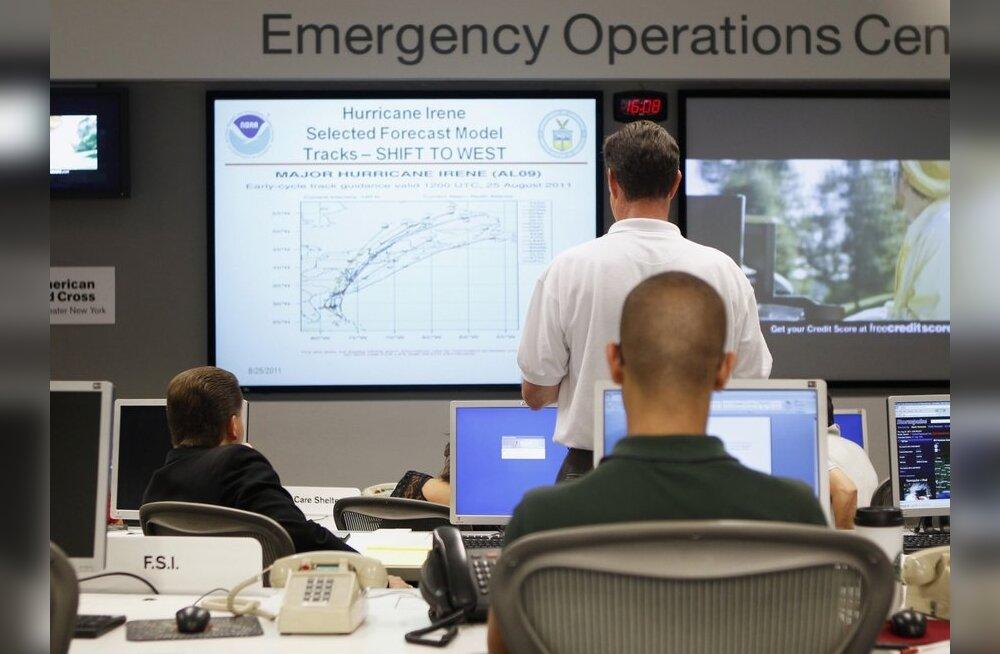 Marylandis asuv tuumareaktor langes orkaani tõttu rivist välja