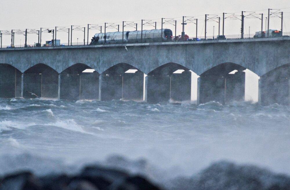 Taani Suur-Belti sillal hukkus rongiõnnetuses kuus inimest