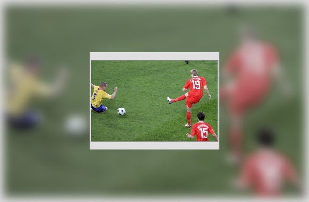 Pavljutšenko lööb Rootsile värava
