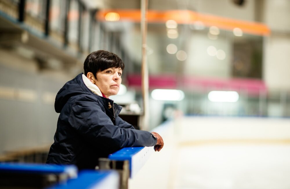 Anna Levandi on vihane: miks ei lubata iluuisutajatel jäähallis trenni teha?
