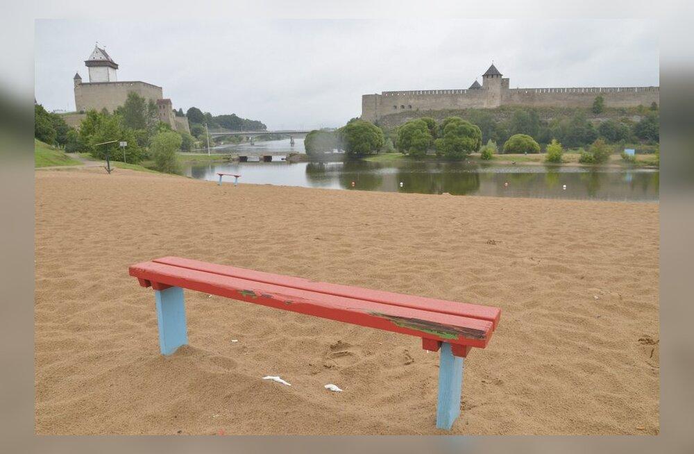 Narva tugevdas Joaoru supelrannas turvameetmeid