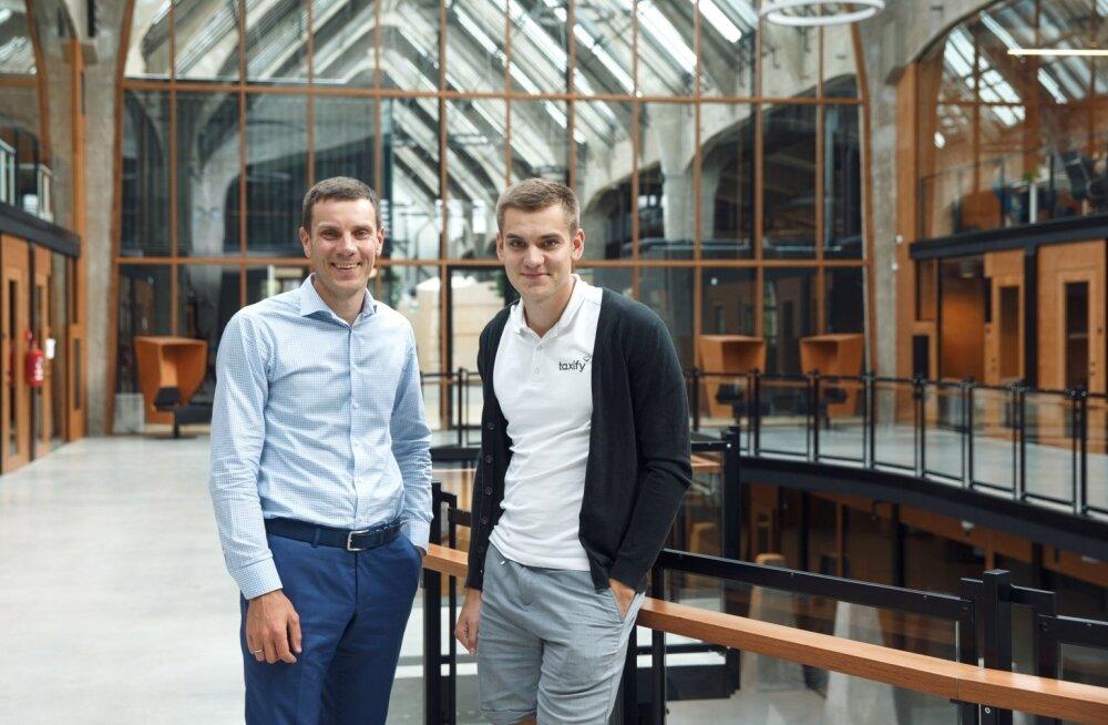 Taxify asutajad Martin (vasakul) ja Markus Villig