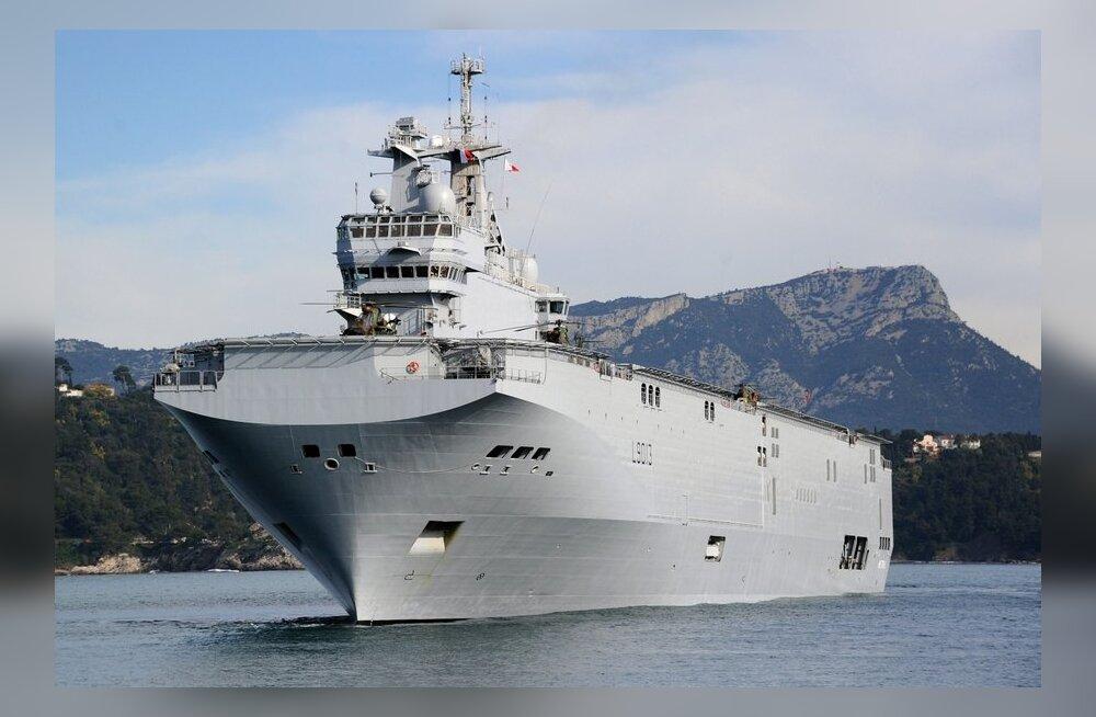 Venemaa paigutab Mistral-klassi dessantlaevad Kaug-Itta