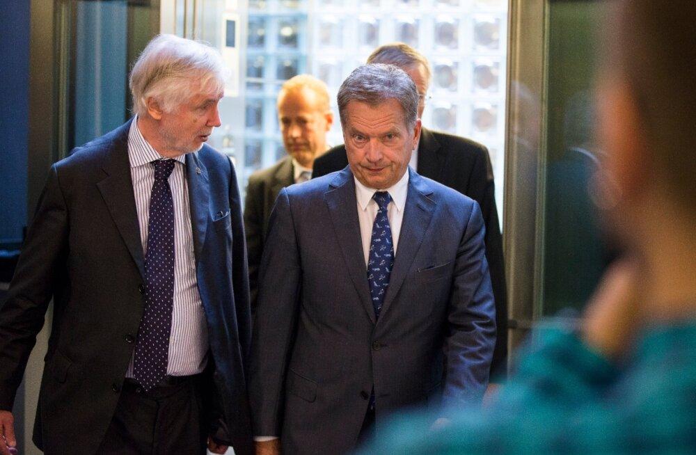 Soome endine välisminister Tuomioja praegusest presidendist Niinistöst: ta jätab uskumatult vastumeelse mulje