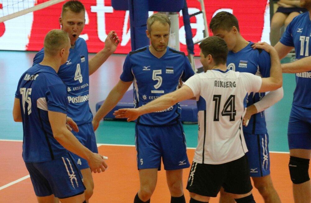 Võrkpalli MM-valiksari Eesti - Valgevene