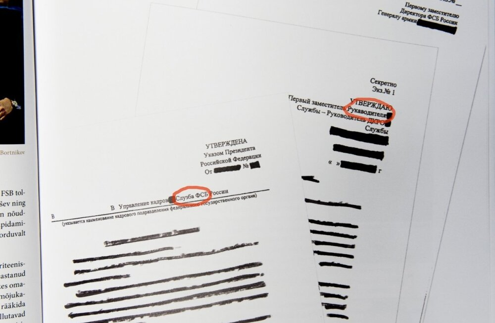 Kapo aastaraamatus toodud väidetavates Vene dokumentides on totrad kirjavead