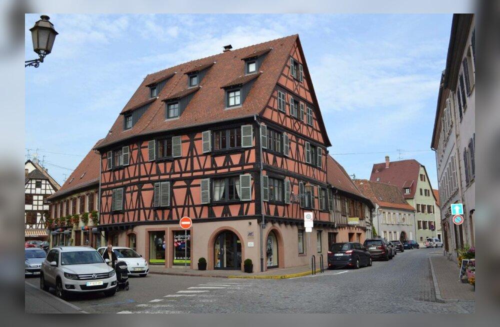 Alsace: päikeseline nädalalõpp koos hea veini ja toiduga