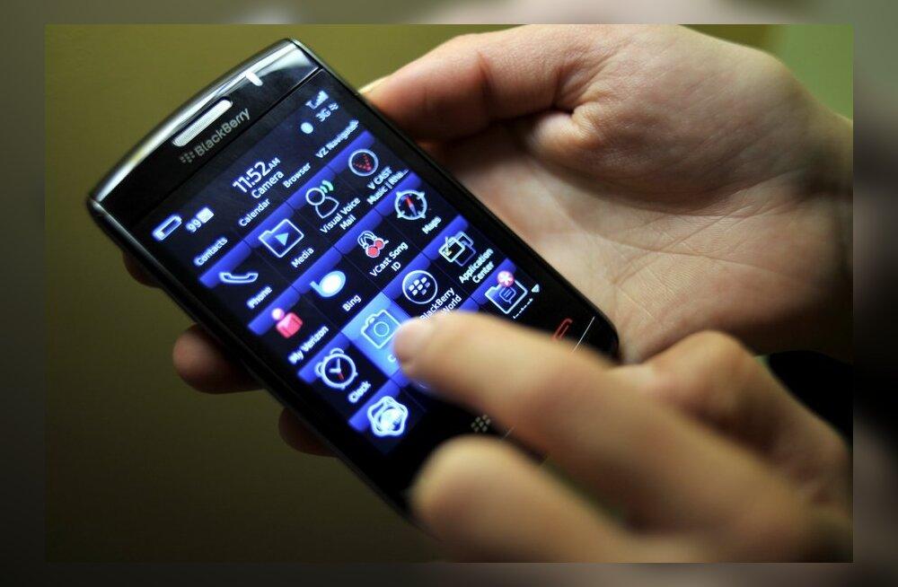 Производитель BlackBerry потерпел убытки впервые за 6 лет
