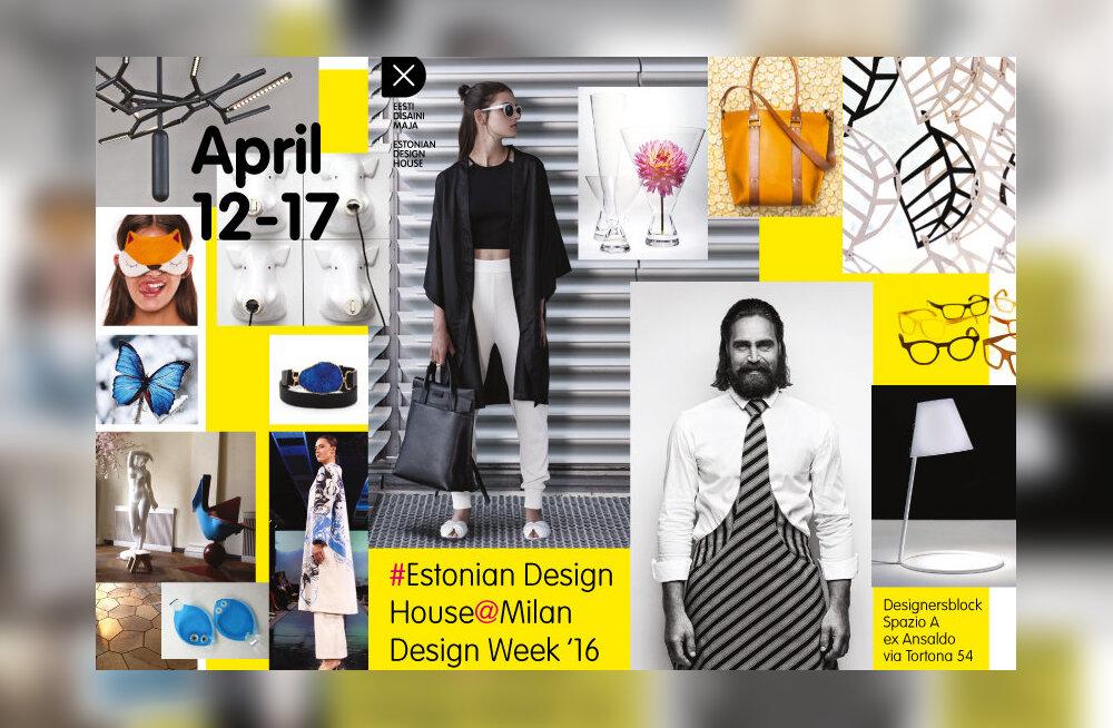 Disainiteadlik publik näeb Eesti disaini Milaano disaininädalal