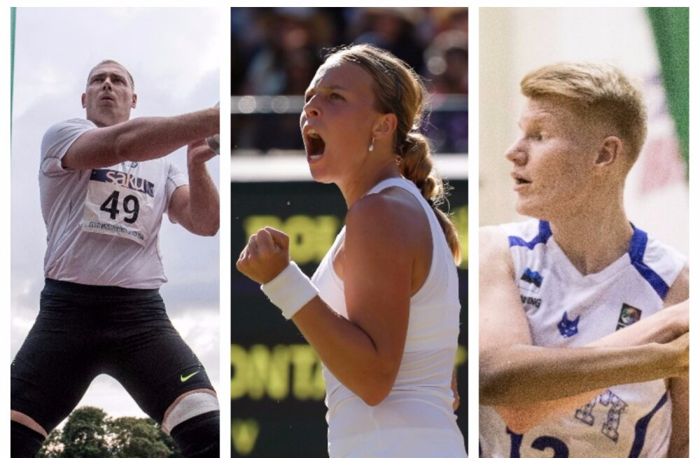 Suur spordinädalavahetus Delfi TV-s: Kontaveit jahib turniirivõitu, U18 koondis valmistub EM-iks, Kadriorus toimuvad kergejõustiku Eesti meistrivõistlused