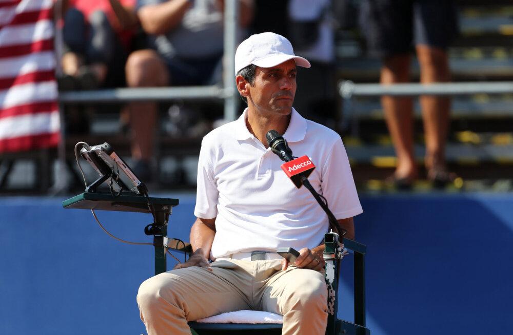 Marin Cilic sai Davis Cupil tunda Serena Williamsiga raksu läinud pukikohtuniku karmi kätt
