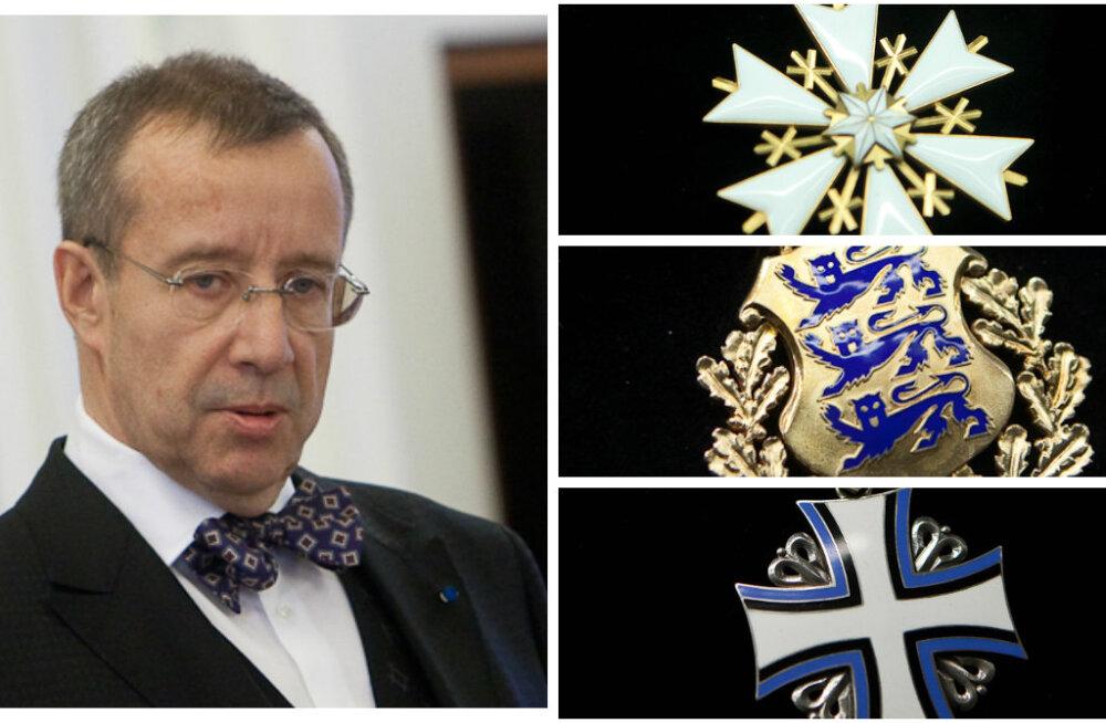 Eesti tunnustab iseseisvuspäeva eel riigi teenetemärkidega 99 inimest