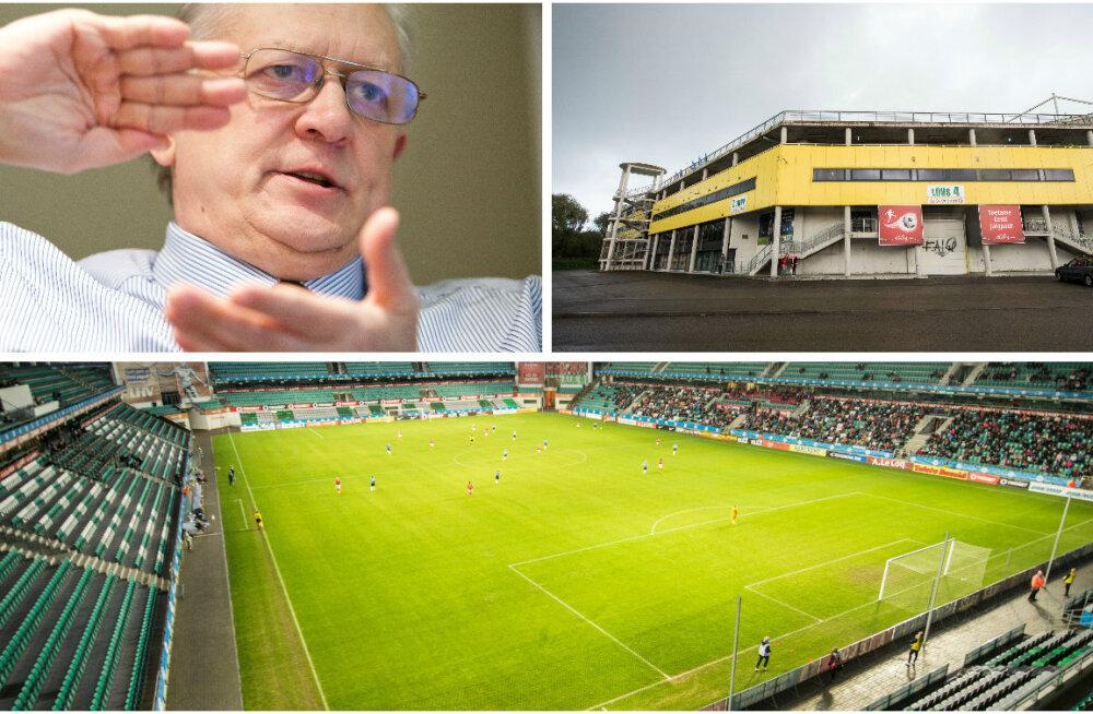 Jaak Salumets: viie miljoni euro eraldamises Lilleküla staadionile on raske näha ratsionaalsuse iva
