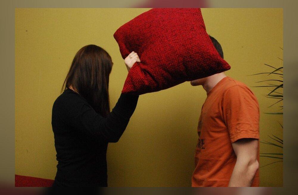 Kas naised saavad suhtes rohkem haiget?