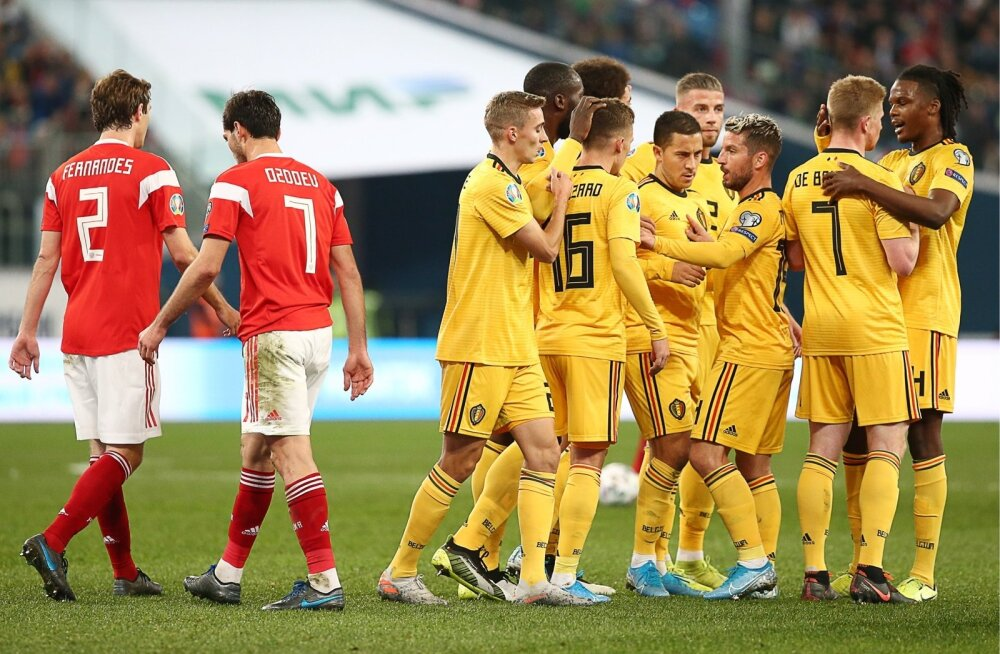Venemaa vs Belgia