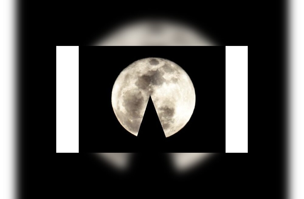 Kuu kutsub külla. Foto Hyungwon Kang, Reuters