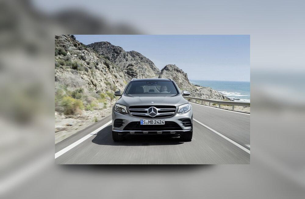 Mercedes-Benz esitles väikemaasturit GLC – rivaal mudelitele Audi Q5, BMW X3 ja Volvo XC60