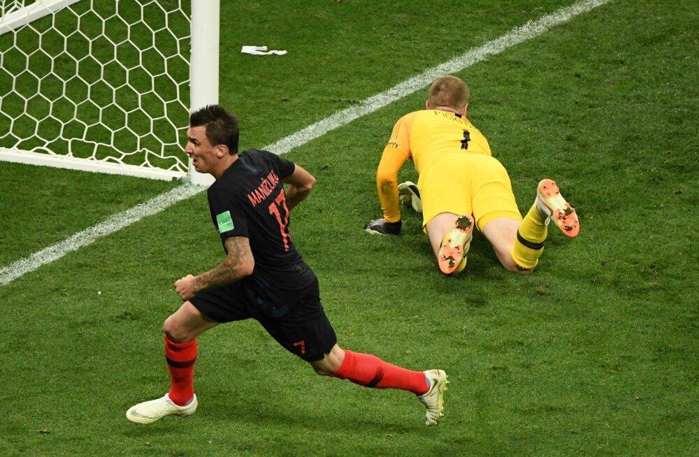 Horvaatia vs Inglismaa