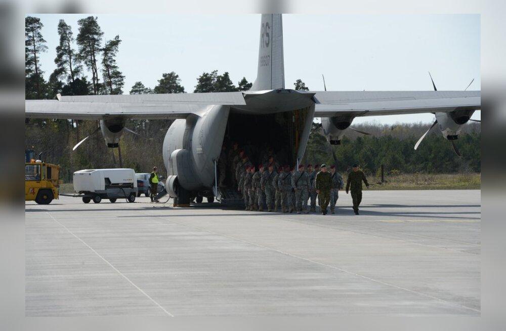 Ühendriikide sõjaväelased saabusid Ämarisse
