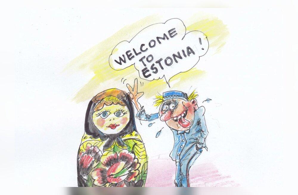 KARIKATUUR: Welcome to Estonia!