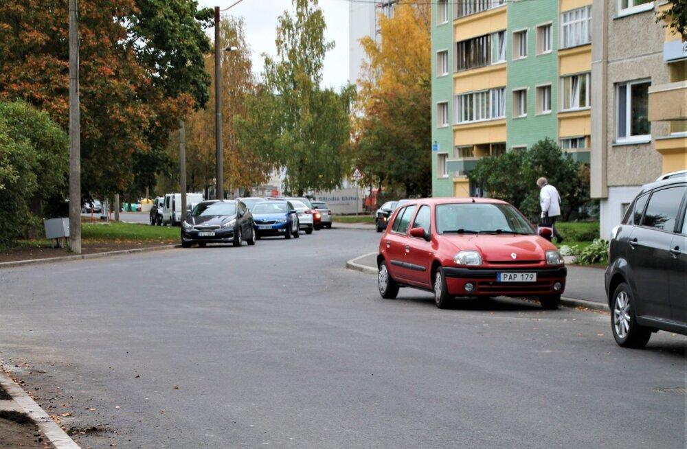В Ласнамяэ закончился масштабный ремонт внутриквартальных дорог