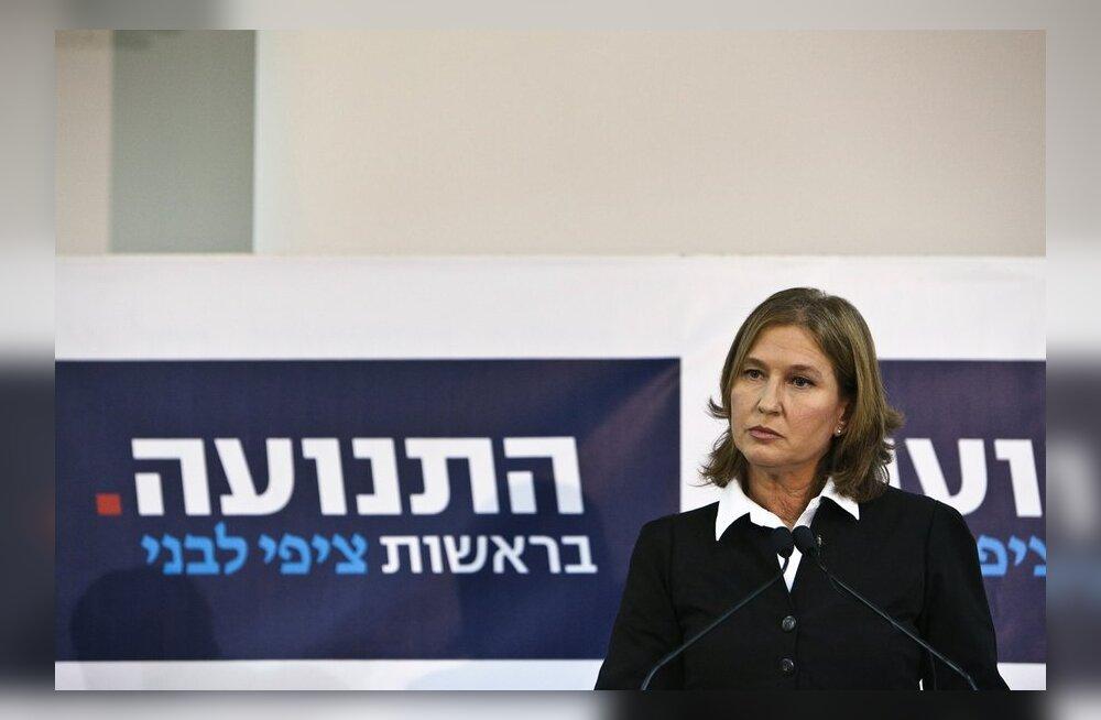 Iisraeli endine välisminister Tzipi Livni naaseb uue erakonna eesotsas poliitikasse