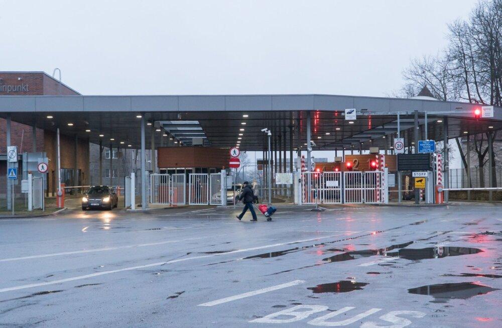 Narva piiripunkt 3.03.2020