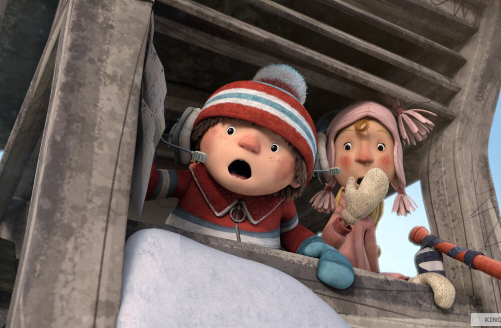"""""""Снежные гонки"""" — лучшее зимнее развлечение для маленьких зрителей"""