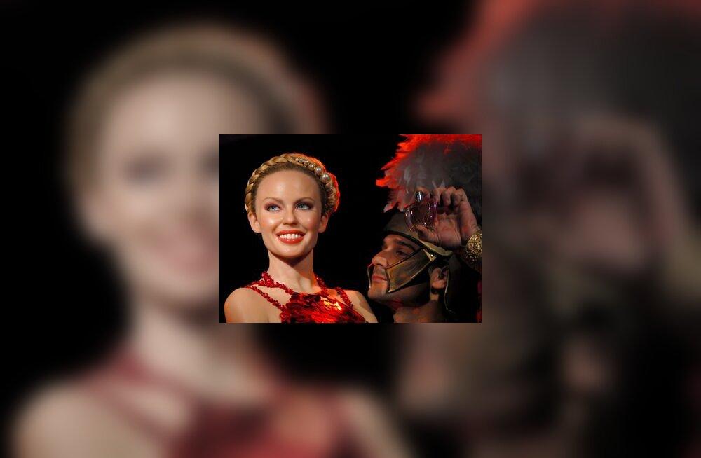 Kylie Minogue'i lõhnastatud vahakuju