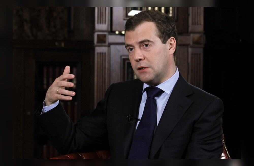Medvedev tahab karistada kosmoseprojektide ebaõnnestumiste süüdlasi
