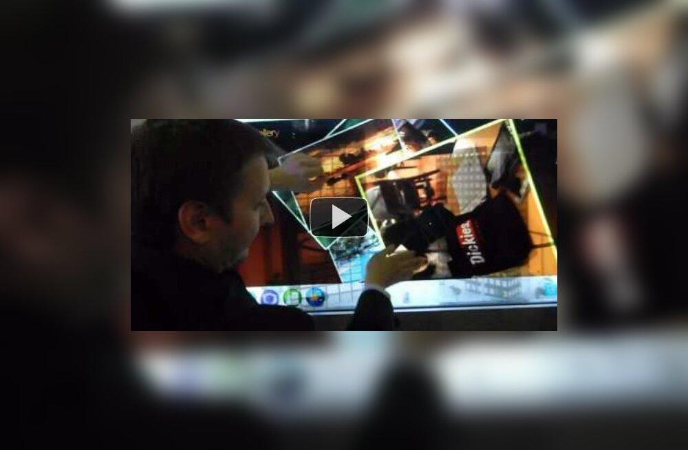 LG läbipaistev LCD-IPS ekraan