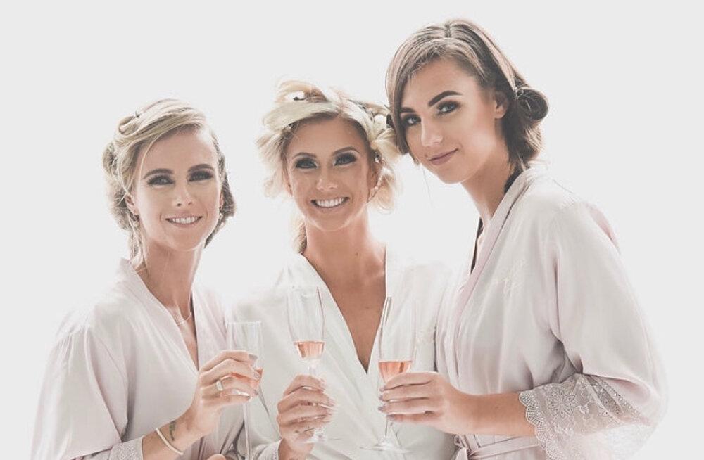 IMELISED FOTOD | Grete Griffini pulmas särasid pruutneitsitena ka õed Grit ja Jade